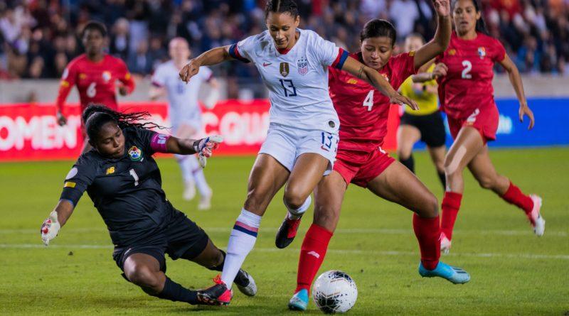 Olympic qualifying tourney 2020 Lynn Williams vs. Panama