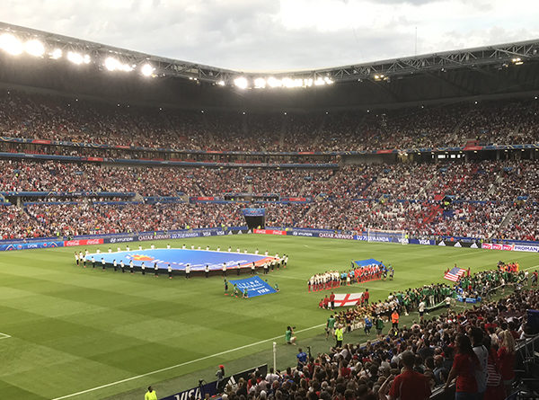 USA England WWC semifinal 2019