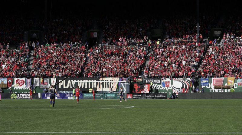 2018 NWSL final in Portland