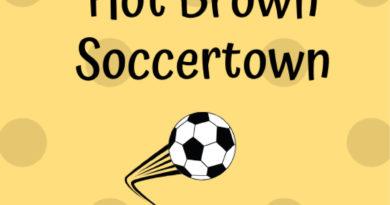 Hot Brown Soccertown - Big Ten