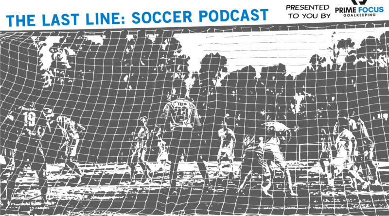 The Last Line: Soccer Podcast Logo