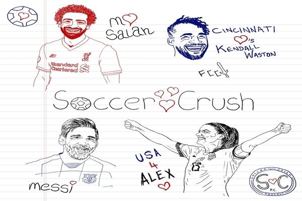 Soccer Crush/Soccer Crushes