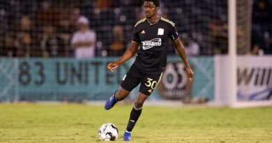 Lebo Moloto of FC Tulsa