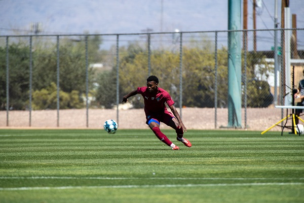Shak Adams of FC Tucson