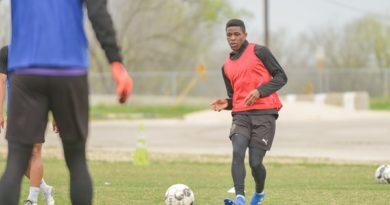 Kofi Sarkodie of Austin Bold FC