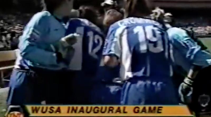 WUSA inaugural game 2001