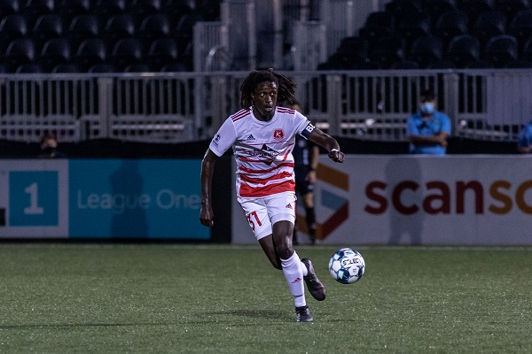 Mumbi Kwesele of the Richmond Kickers