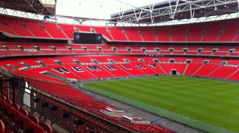 Wembley Stadium, the home of the Euro 2020 final