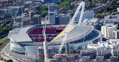Wembley Stadium, where England picked up a win at UEFA Euro 2020