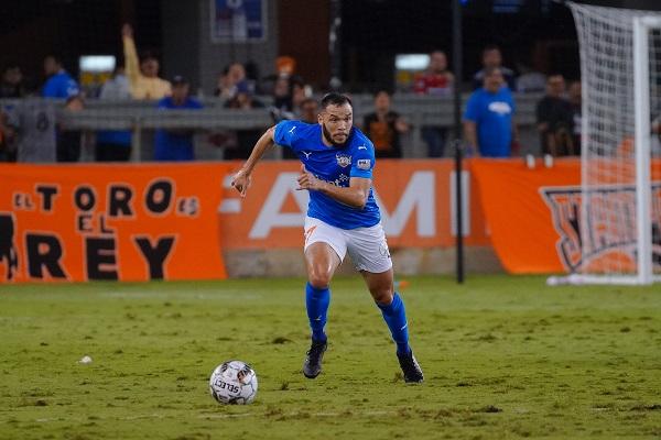 RGVFC forward Juan Carlos Azocar