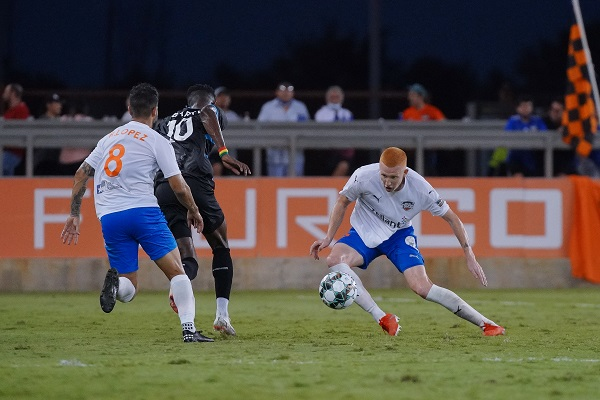 RGVFC loses to Colorado Springs Switchbacks FC on 8/14.
