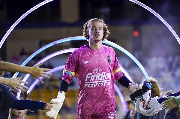 Alex Rando of Las Vegas Lights FC