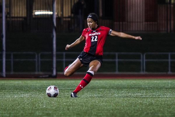 Ashley Barron of Cincinnati Women's Soccer