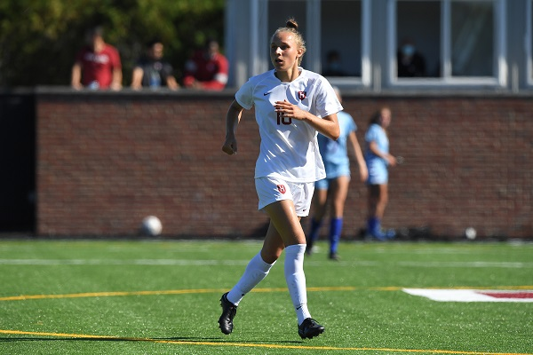 Angela Caloia of Harvard women's soccer